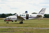 ZS-PFA Beech B90 King Air – Headcorn